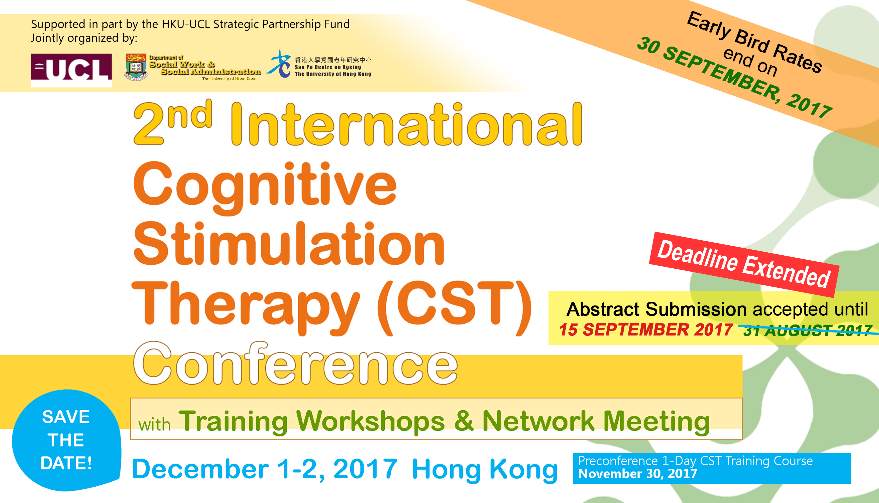 2nd International Cognitive Stimulation Therapy (CST) Conference