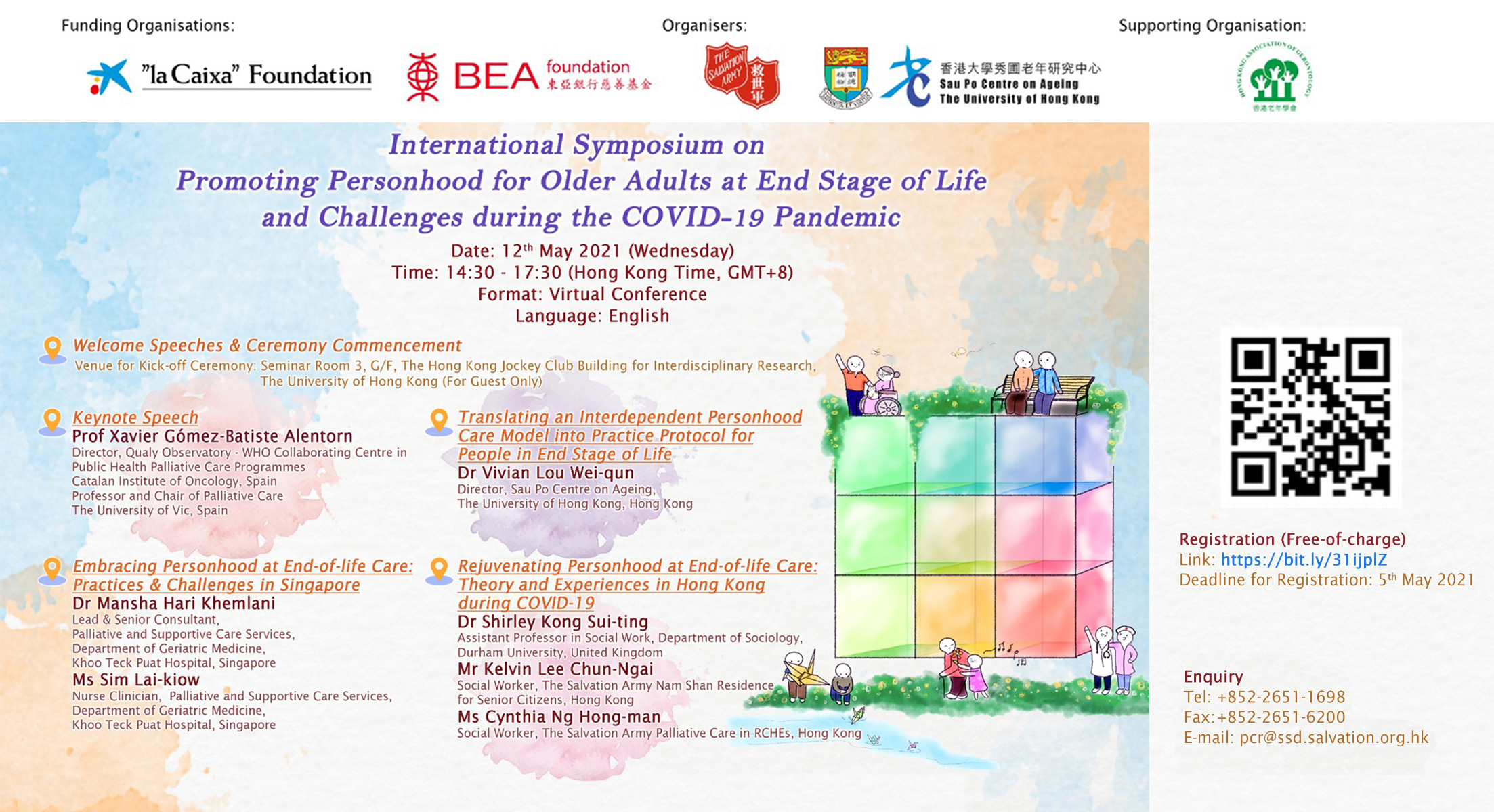 International Symposium on Promoting Personhood for Older Adults at End Stage of Life and Challenges during the COVID-19 Pandemic
