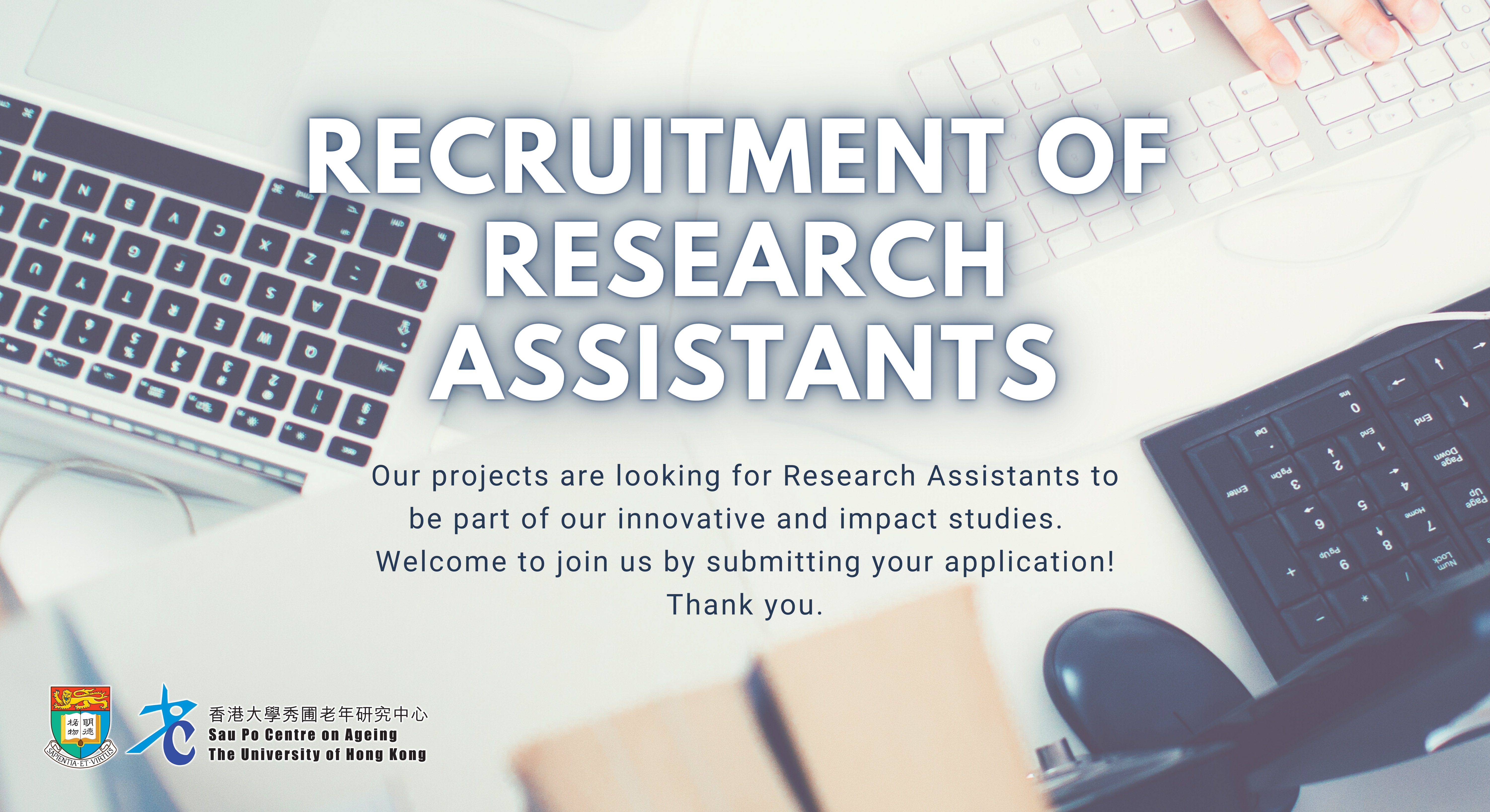 Recruitment of Research Assistants