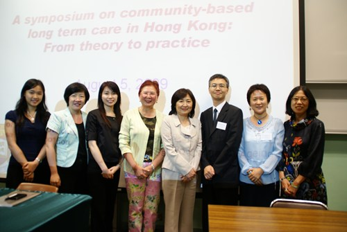 2009 A Symposium on Community-based Long-term Care in Hong Kong
